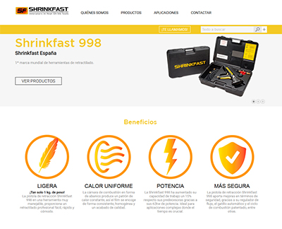 Shrinkfast | Retractilado de productos