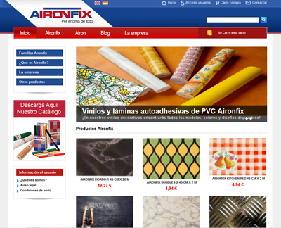 Aironfix | Papel decorativo