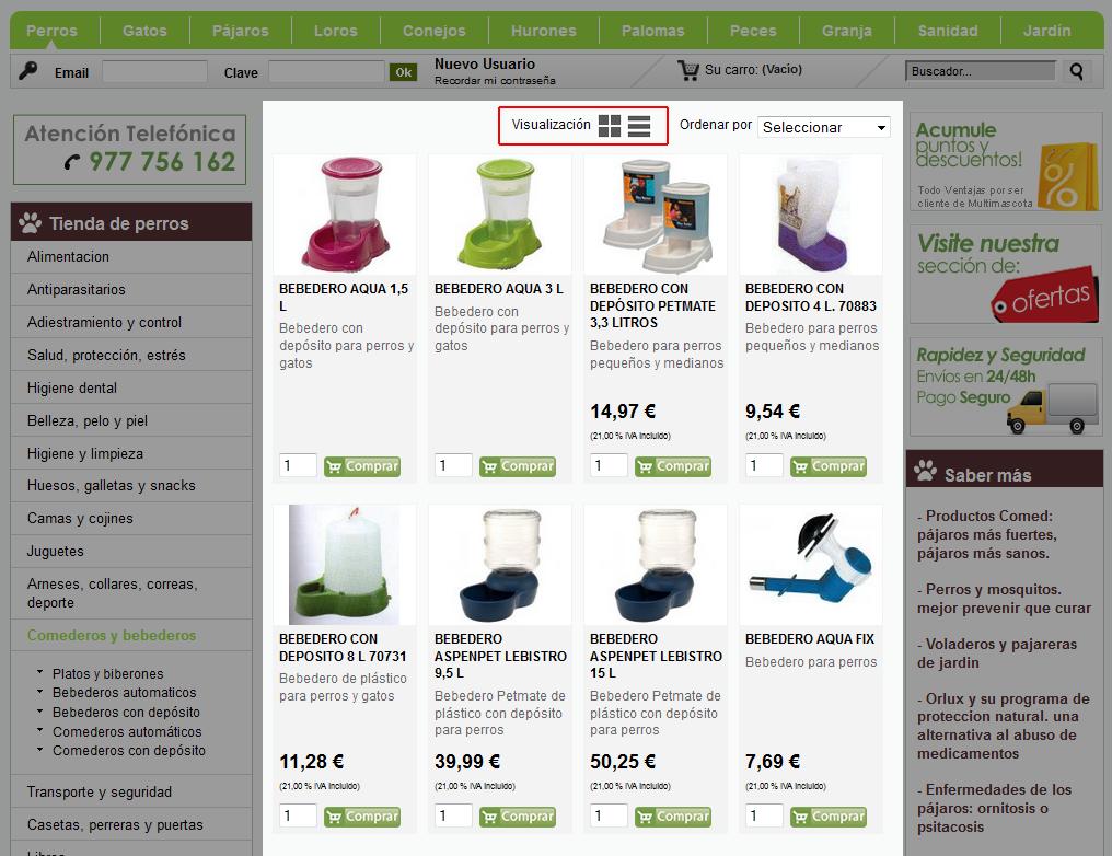 NUEVAS PLANTILLAS DISPONIBLES - Comercio electrónico | páginas web ...